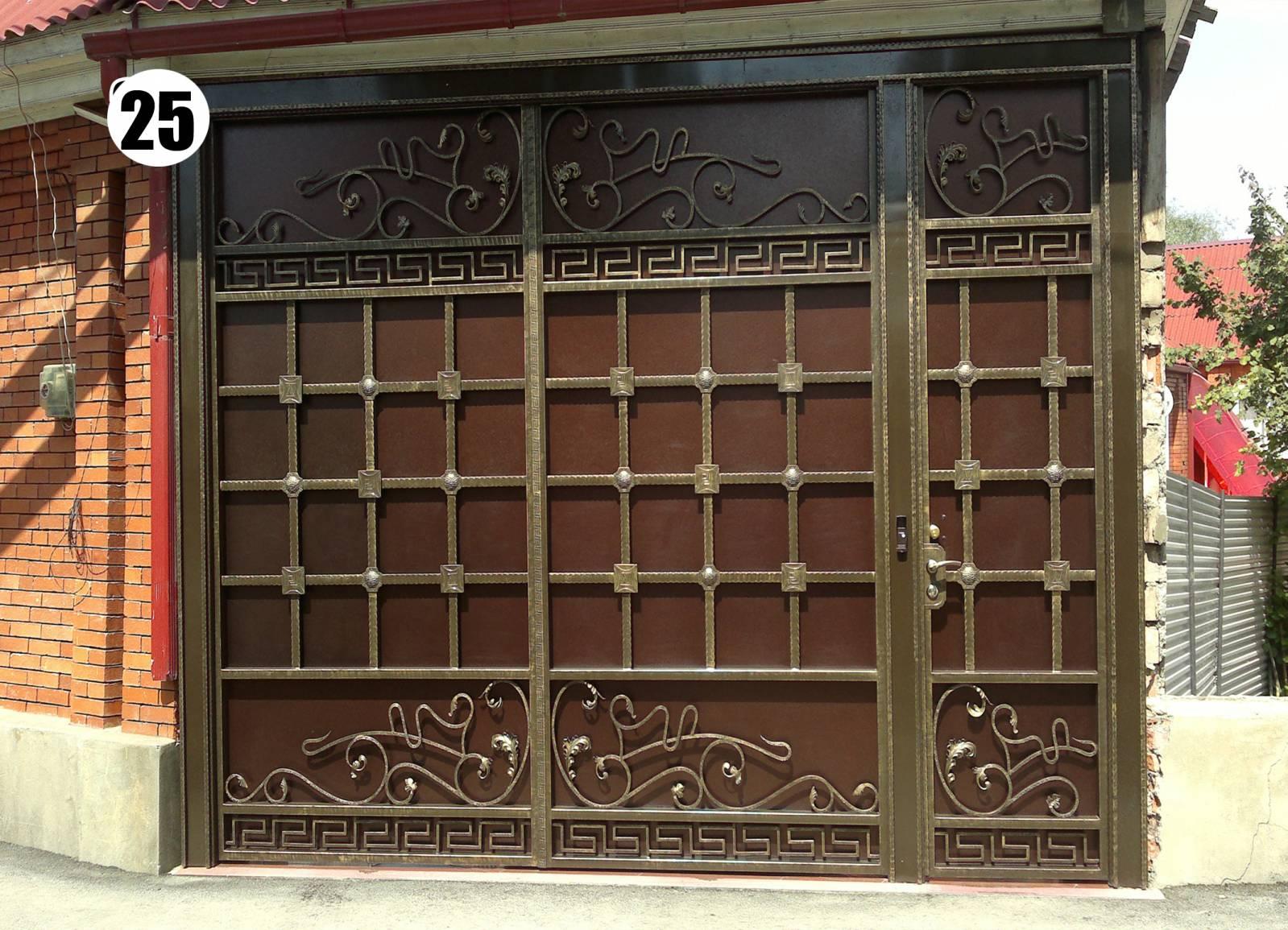 Дизайн ворот и калиток металлических